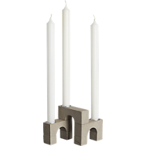 viaduct taper candle holder