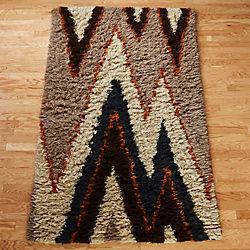 vibrations shag rug