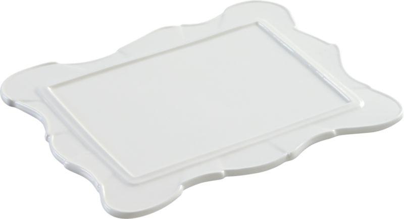 vicki white platter