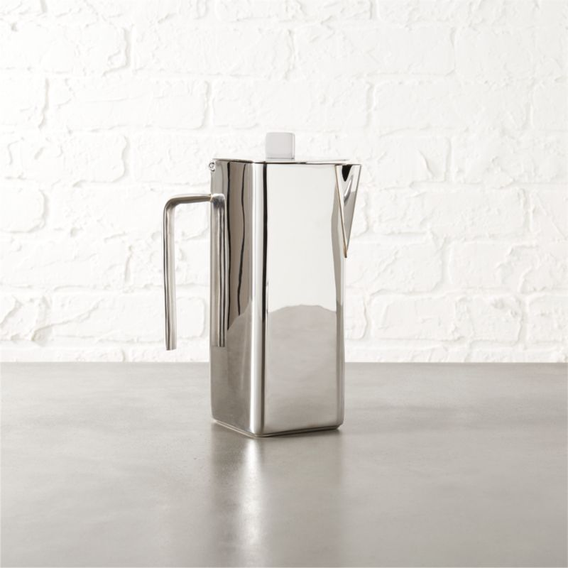 vienna stainless steel coffee pot
