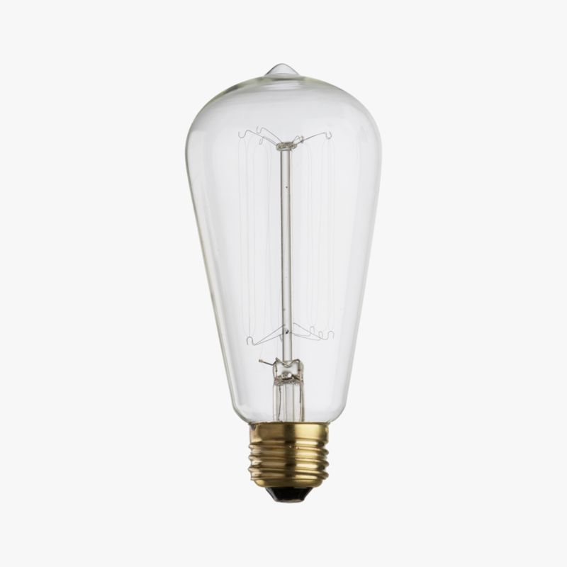 vintage filament 60W light bulb