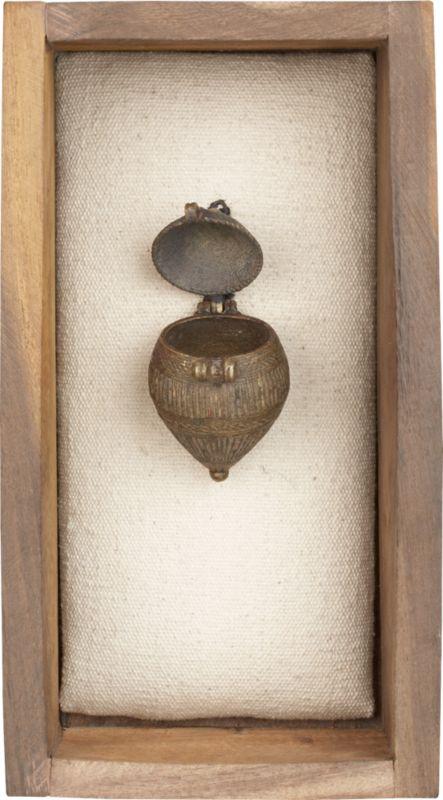 vintage tobacco-tea holder