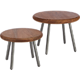 wafer tables set of two