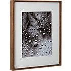 walnut 11x14 box picture frame.