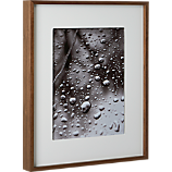 walnut 11x14 box picture frame