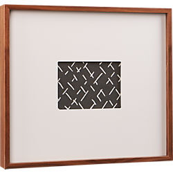 walnut 5x7 box picture frame