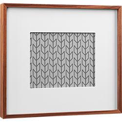 walnut 8x10 box picture frame
