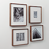 walnut box picture frames