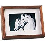 walnut 4x6 picture  frame
