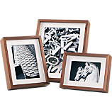 walnut picture frames