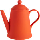 wayne orange teapot. 46 oz.