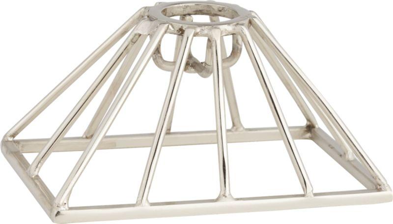 webb silver candle holder