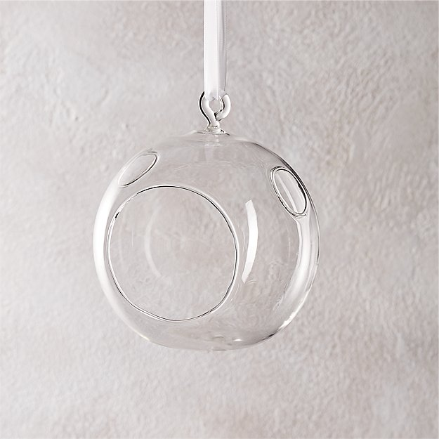 whirly hanging tea light candle holder