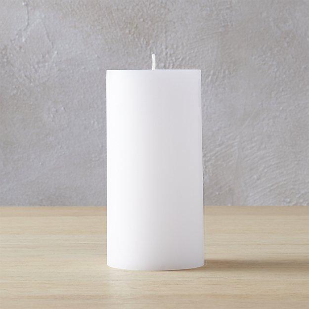 """3""""x6"""" pillar candle"""