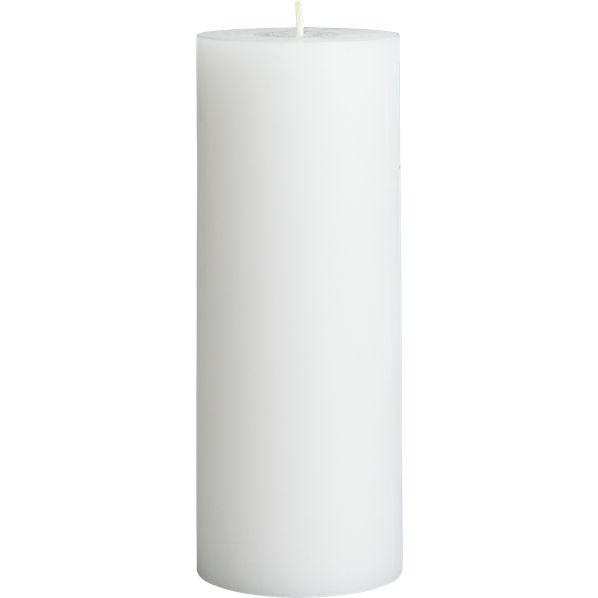 WhitePillarCandle3x8F14