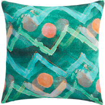 """wilma 16"""" pillow with down-alternative insert"""