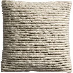 """wool wrap 16"""" pillow"""