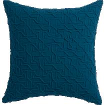 """woolsley blue-green 18"""" pillow"""