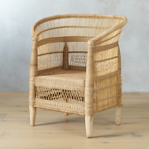 woven malawi chair