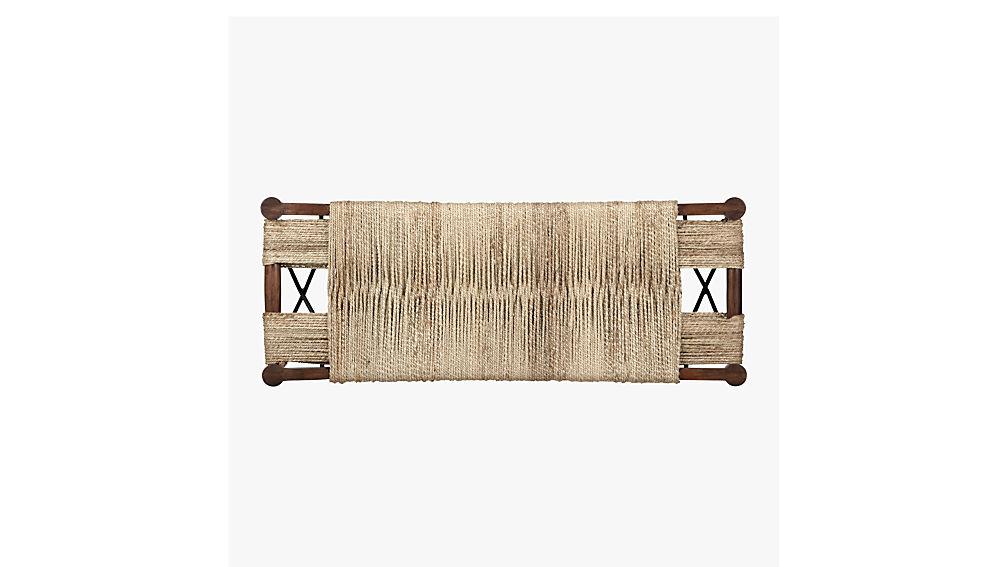 wrap large bench