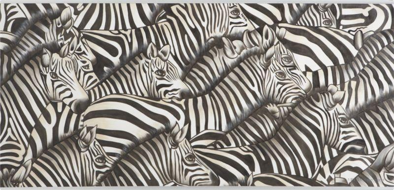 zebras painting