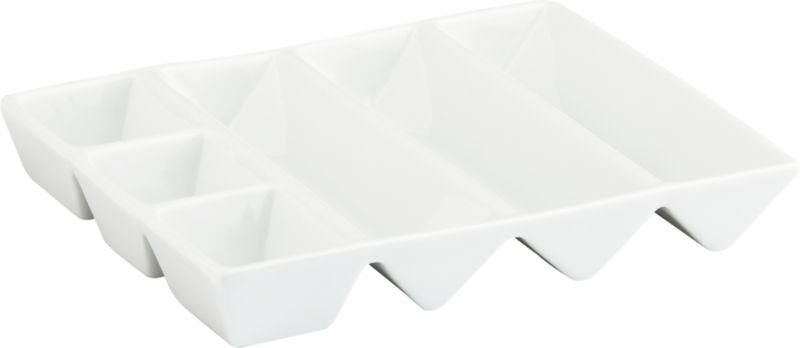 zig serving plate