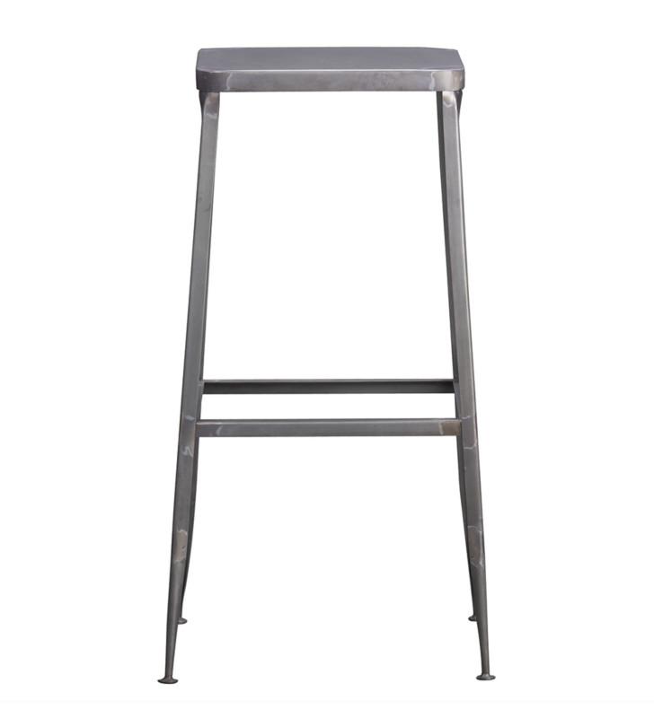 flint steel 30 inch bar stool