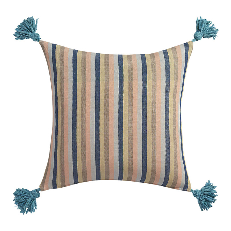nimah stripes 18 inch pillow