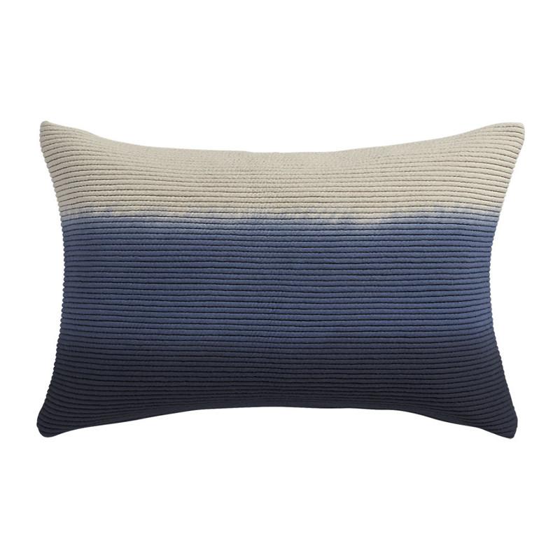 blue azure 18x12 pillow
