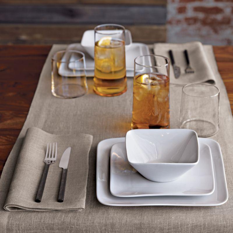 uno natural linen napkin