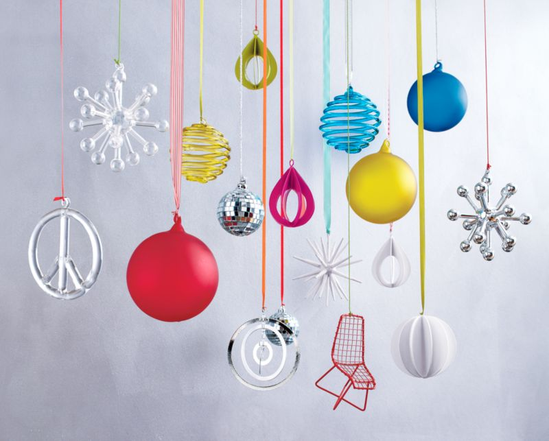 Handmade Glass Ornaments - CB2