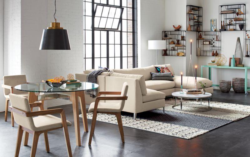 neutral texturas rug