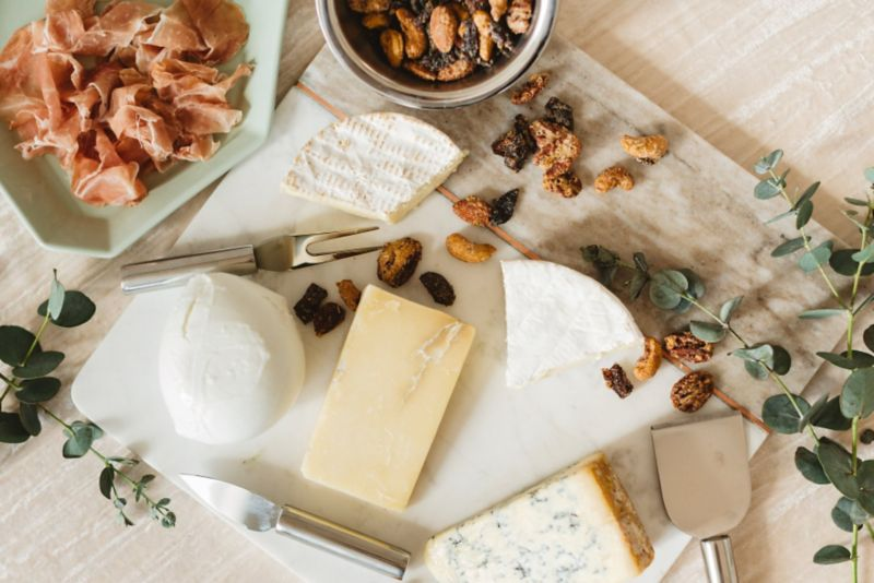 A party without a cheese plate just plain stinks. So to please your party guests all holiday season long stock the fridge with fromage that everyone will ... & Cheese Platter Ideas