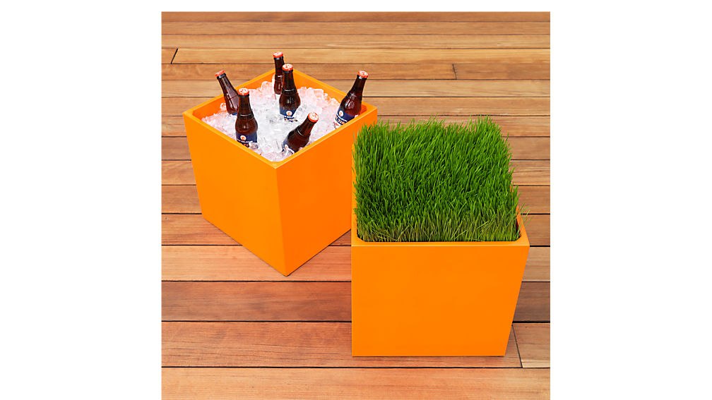 cube table-planter