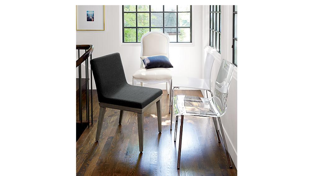 vapor acrylic chair