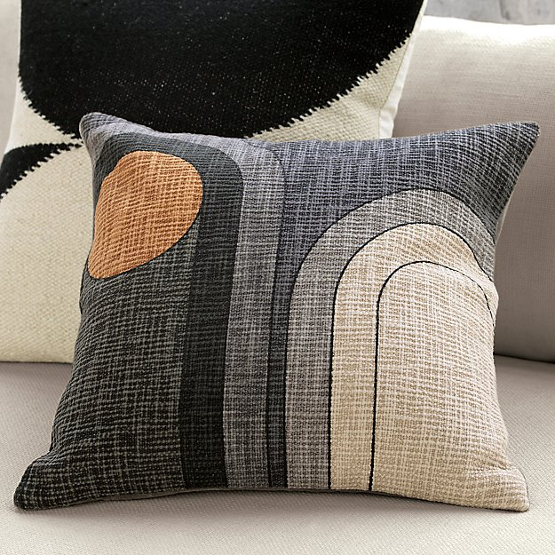 "dream 18"" pillow with feather-down insert"