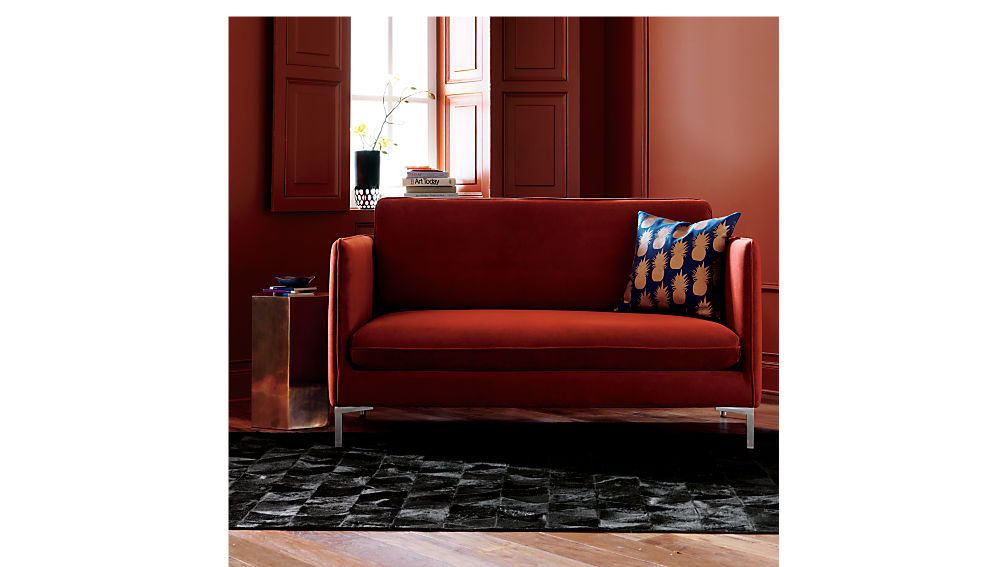 flatiron rouge apartment sofa