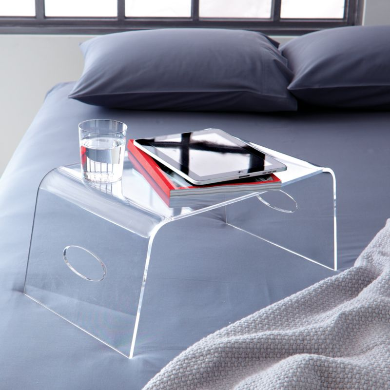 acrylic bed tray