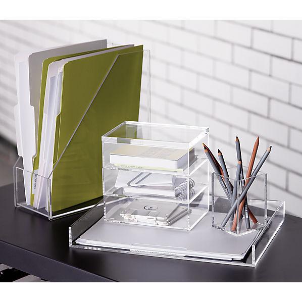 Format desk accessories cb2 - Desk organizers and accessories ...
