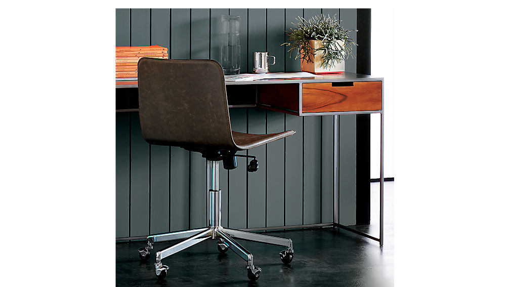 Form Brown Office Chair CB2
