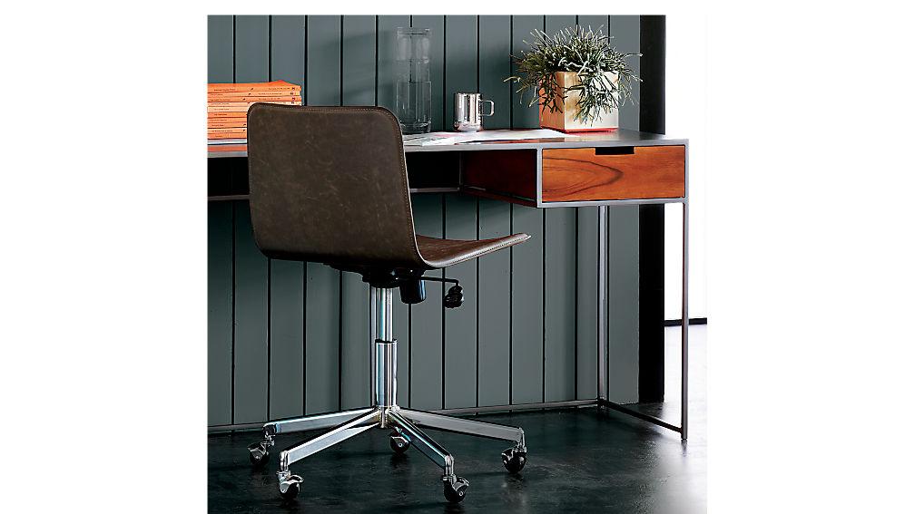form brown office chair form brown office chair cb2 office