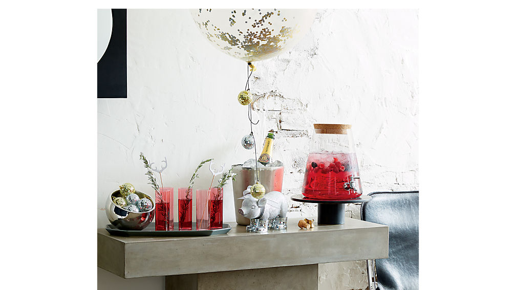 fuze grey console table