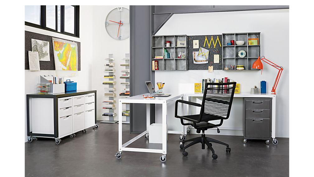 TPS carbon 3-drawer filing cabinet