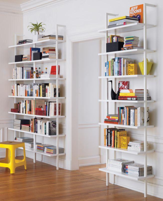 Designer's Corner: CB2 Stairway Bookcase
