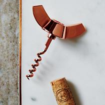 industrial copper corkscrew