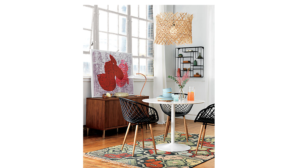 odyssey white dining table