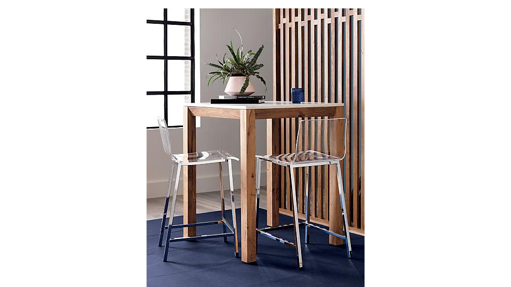 """vapor 24"""" acrylic counter stool"""