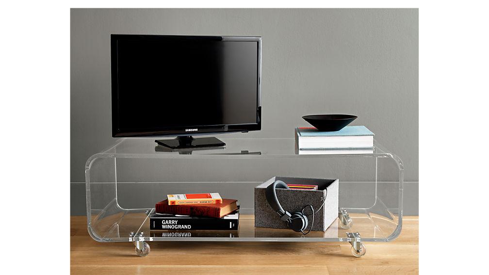 peekaboo acrylic media console