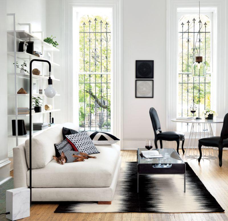 reverb black rug