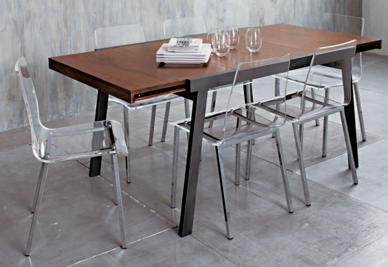 Dining Table Cb2 Pocket Dining Table For Sale